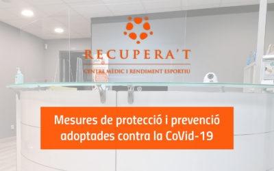 Recupera't reobre les seves portes adaptant-se a les mesures contra la Covid-19
